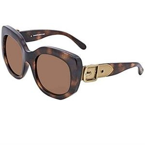 Coach Sunglasses Glitter with Pale Gold Belt Arms
